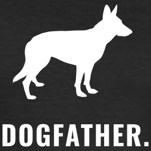 Shepherd Dogfather - Men's Slim Fit T-Shirt