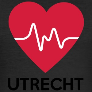 heart Utrecht - Men's Slim Fit T-Shirt