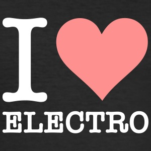 I Love Electro - Men's Slim Fit T-Shirt