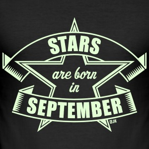 Stars are born in September (Geburtstag)