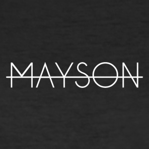 Mayson white bokstäver - Slim Fit T-shirt herr