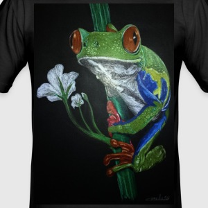 frog frog - Herre Slim Fit T-Shirt