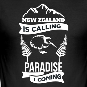 New Zealand - Slim Fit T-skjorte for menn