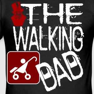 The Walking versie overhemd van de Papa Halloween - slim fit T-shirt