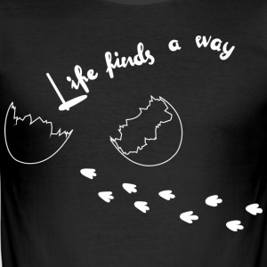 Life Finds A Way - Tee shirt près du corps Homme