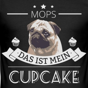 MOPS muffin - Slim Fit T-shirt herr