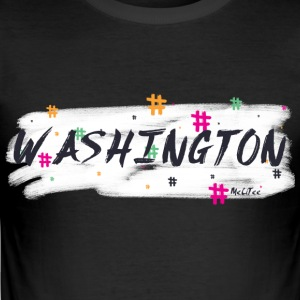 Washington # 2 - Slim Fit T-shirt herr
