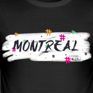 Montreal # 2 - Männer Slim Fit T-Shirt