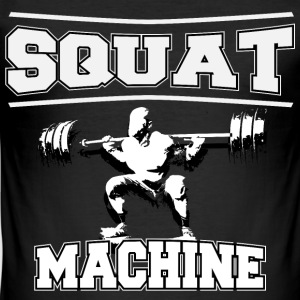 SQUAT MACHINE - slim fit T-shirt