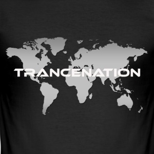 TRANCE NATION - slim fit T-shirt