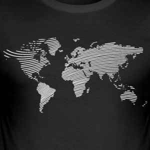World Nr.2 - Männer Slim Fit T-Shirt