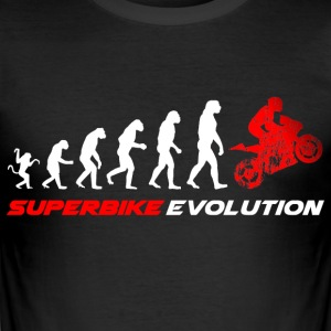 Superbike Evolution - Tee shirt près du corps Homme