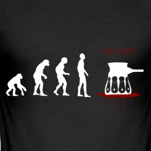 Evolved ... Oops - Men's Slim Fit T-Shirt