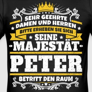 Seine Majestät Peter - Männer Slim Fit T-Shirt
