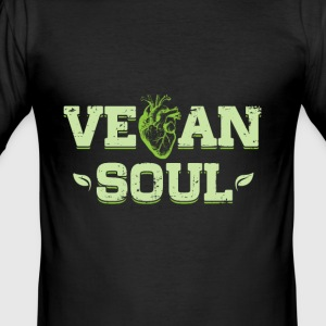 Vegan soul - Men's Slim Fit T-Shirt