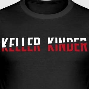 Kellerkinder lettering - Men's Slim Fit T-Shirt