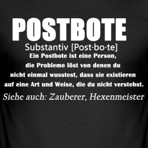 Postbote - Postbote Definition - Männer Slim Fit T-Shirt
