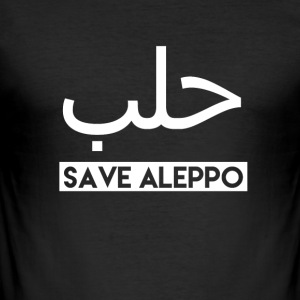 Gem Aleppo! - Herre Slim Fit T-Shirt