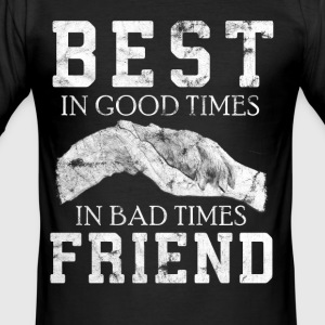 Dog best friend - Men's Slim Fit T-Shirt