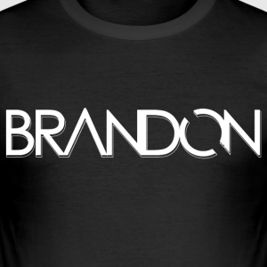 DJ BRANDON - Men's Slim Fit T-Shirt