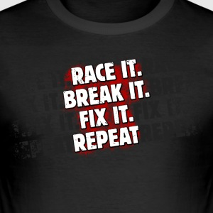 Race it - Männer Slim Fit T-Shirt