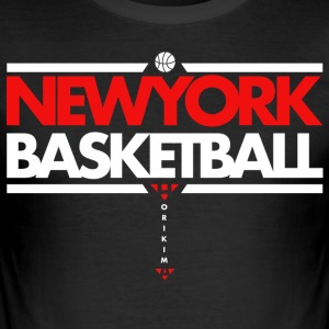 Horikima NY Basketball Men's T-Shirt - Männer Slim Fit T-Shirt