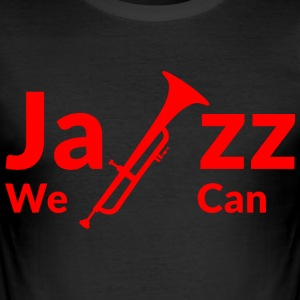 JAZZ WE CAN - red - Men's Slim Fit T-Shirt