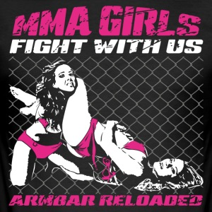 MMA Girls - Fightwear - Mix Martial Arts - BJJ - Men's Slim Fit T-Shirt
