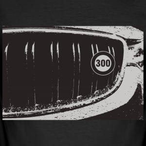 300 km / t grille - Slim Fit T-skjorte for menn