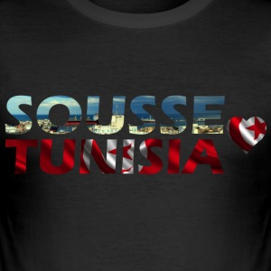 Sousse - Männer Slim Fit T-Shirt