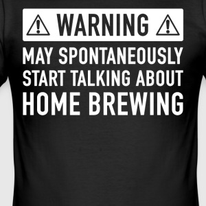 Funny Homebrewing Gift Idea - Men's Slim Fit T-Shirt