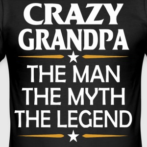 Crazy Opa grappige overhemd - slim fit T-shirt