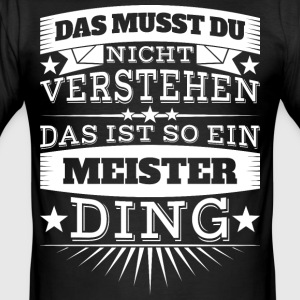 meister - Männer Slim Fit T-Shirt