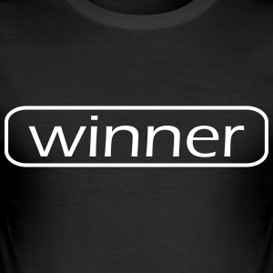 winnaar - slim fit T-shirt