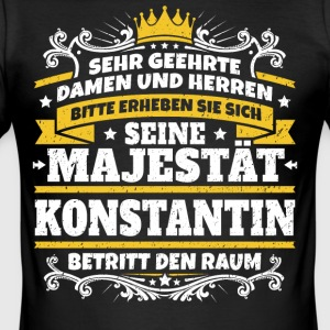 Zijne Majesteit Constantine - slim fit T-shirt