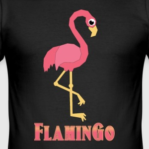 flamingo - Slim Fit T-shirt herr