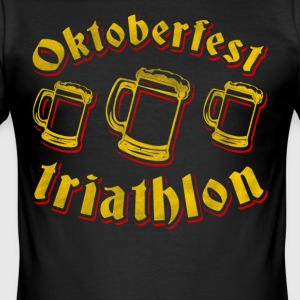 Oktoberfest-Triathlon - Männer Slim Fit T-Shirt
