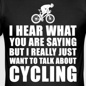 Funny Cycling Bicycle Gift Idee - Men's Slim Fit T-Shirt