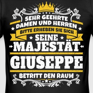 His Majesty Giuseppe - Men's Slim Fit T-Shirt