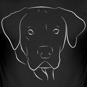 Cane Corso - Slim Fit T-shirt herr