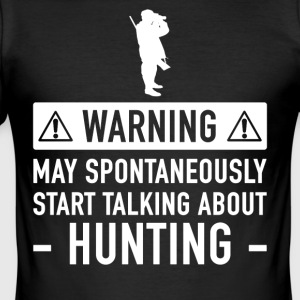 Funny Gave Idé Hunters - Herre Slim Fit T-Shirt