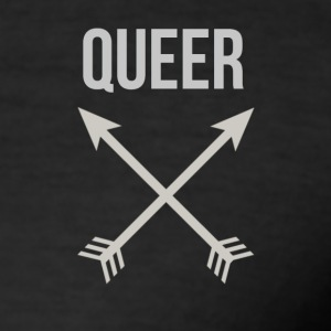Queer Arrows - Männer Slim Fit T-Shirt
