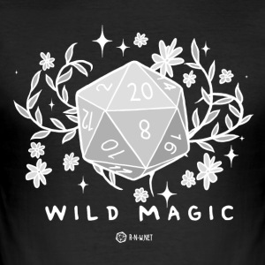 WILD MAGIC - BLANC - Tee shirt près du corps Homme