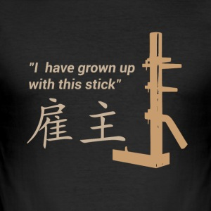 Wing Chun - Formation - Tee shirt près du corps Homme