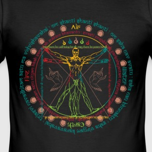 Vitruvius Cosmo Wise Man - slim fit T-shirt