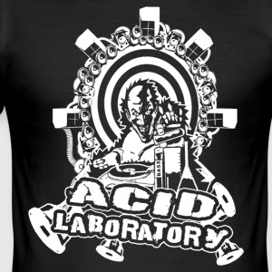 Tekno - Acid Laboratory - Herre Slim Fit T-Shirt