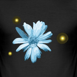 Flower - Slim Fit T-skjorte for menn