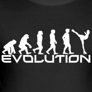 EVOLUTION kunstløp - Slim Fit T-skjorte for menn