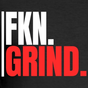 """FKN.GRIND."" - Men's Slim Fit T-Shirt"