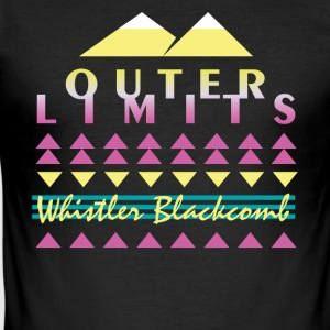 Outer Limits - Slim Fit T-shirt herr